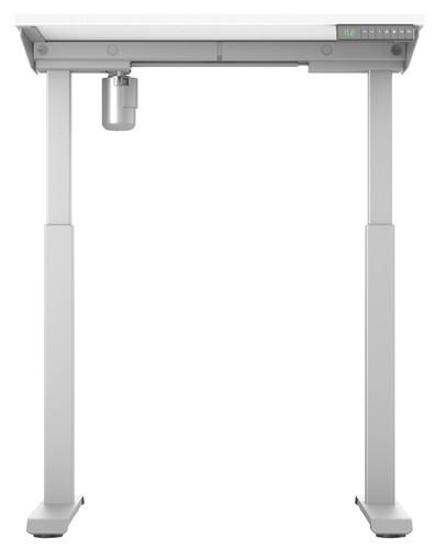 Worktrainer StudyDesk Sit-Stand Desk 80x80cm Silver/White Main Image