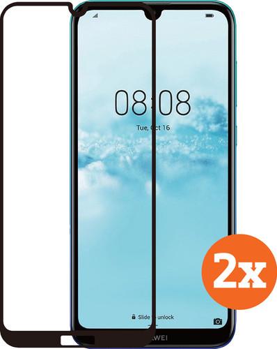 Azuri Tempered Glass Huawei Y6 (2019) Screenprotector Duo Pack Main Image