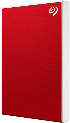 Seagate One Touch portable drive 1TB Rood Main Image