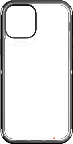 Gear4 Hackney Apple iPhone 12 / 12 Pro Back Cover Black Edge Main Image