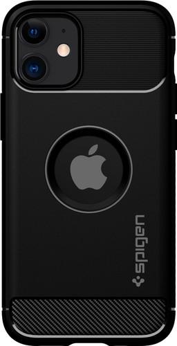 Spigen Rugged Armor Apple iPhone 12 mini Back Cover Zwart Main Image
