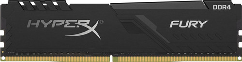 Kingston HyperX FURY 32GB DDR4 3200MHz CL16 DIMM Zwart (2x16GB) Main Image