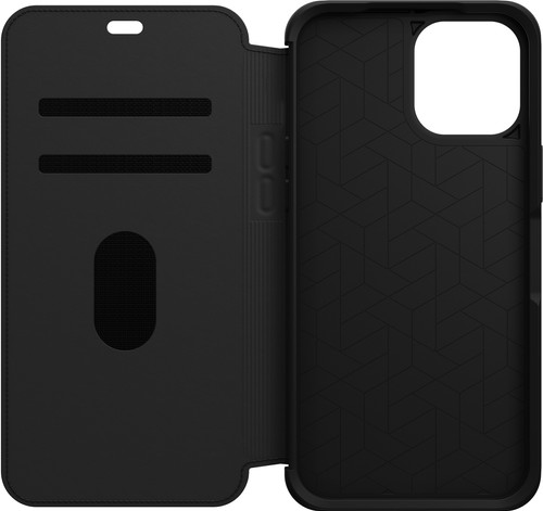 Otterbox Strada Apple iPhone 12 Pro Max Book Case Leer Zwart Main Image