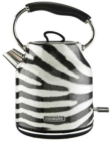Bourgini Zebra Water Kettle 1.7L Main Image