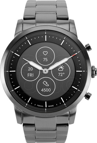 Fossil Collider Hybrid HR Smartwatch FTW7009 Grijs Main Image
