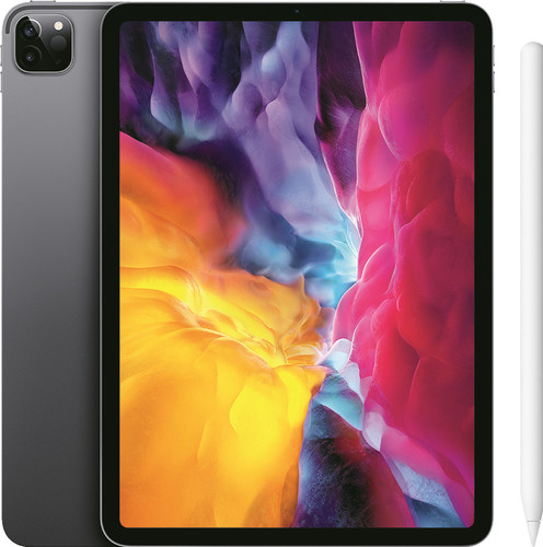 Apple iPad Pro (2020) 11 inches 128GB WiFi Space Gray + Pencil 2 Main Image