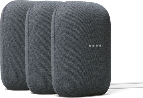 Google Nest Audio Charcoal 3-pack Main Image