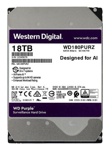 WD Purple WD180PURZ 18TB Main Image