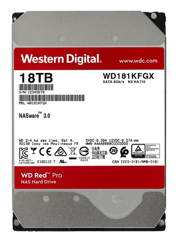 WD Red Pro WD181KFGX 18TB Main Image