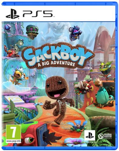 Sackboy: A Big Adventure PS5 Main Image