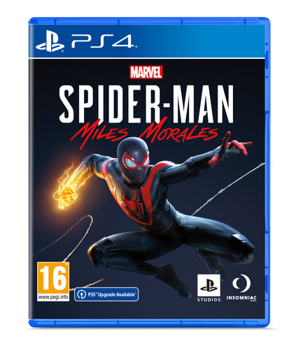 Marvel's Spider-Man Miles Morales PS4 Main Image