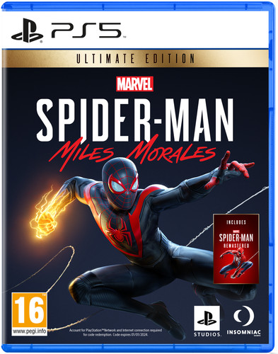 Marvel's Spider-Man - Miles Morales Ultimate Edition PS5 Main Image