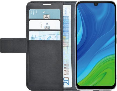 Azuri Wallet Magneet Huawei P Smart (2020) Book Case Zwart Main Image