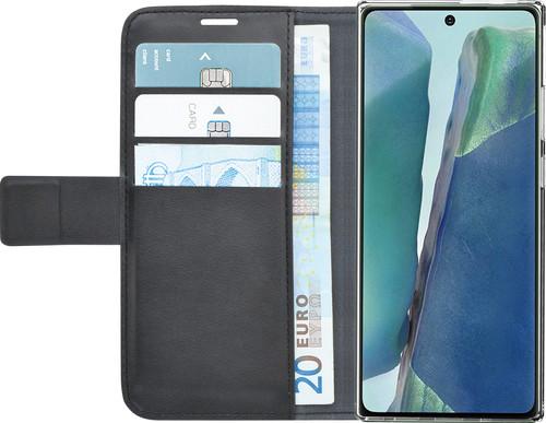 Azuri Wallet Magneet Samsung Galaxy Note 20 Book Case Zwart Main Image