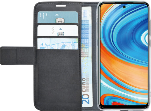 Azuri Wallet Magneet Xiaomi Redmi Note 9 Pro Book Case Zwart Main Image