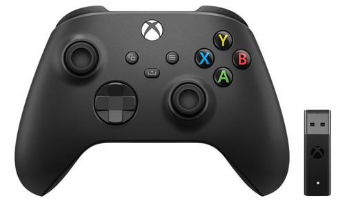 Microsoft Xbox Draadloze Controller + Draadloze Adapter voor Windows 10 (2020) Main Image