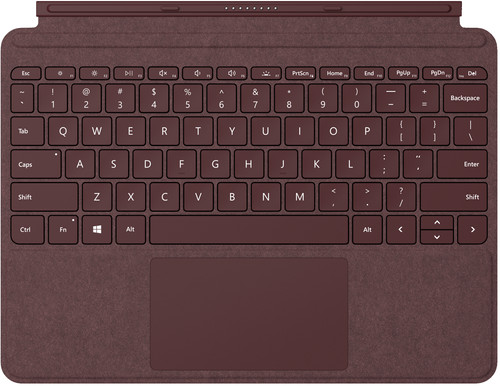 Microsoft Surface Go Type Cover QWERTY Rood Main Image