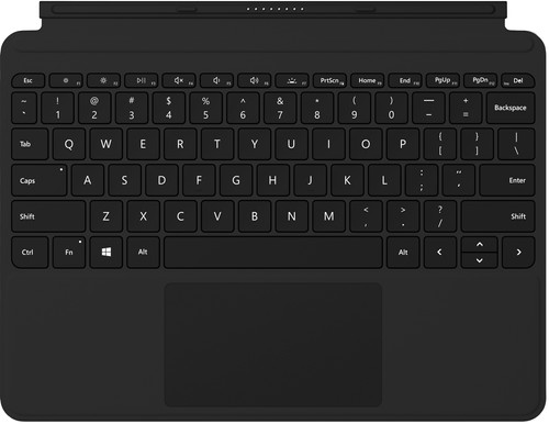 Microsoft Surface Go Type Cover QWERTY Zwart Main Image