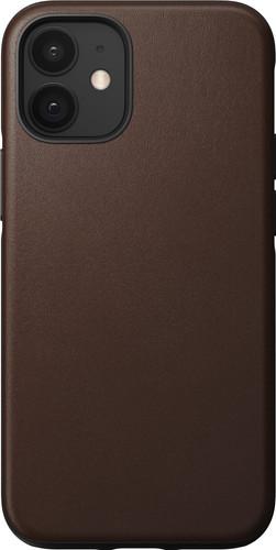 Nomad Rugged Case Apple iPhone 12 mini Back Cover Leer Bruin Main Image