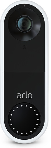 Arlo Wired Video Doorbell White Main Image