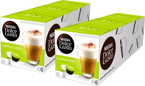 Dolce Gusto Cappuccino 6 pack Main Image