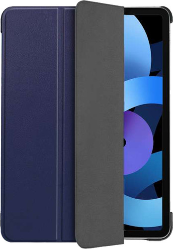 Just in Case Tri-Fold Apple iPad Air (2020) Book Case Blauw Main Image
