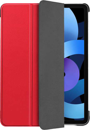 Just in Case Tri-Fold Apple iPad Air (2020) Book Case Rood Main Image