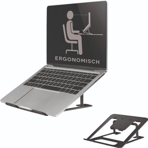 NewStar Opvouwbare Laptopstandaard NSLS085 Zwart Main Image