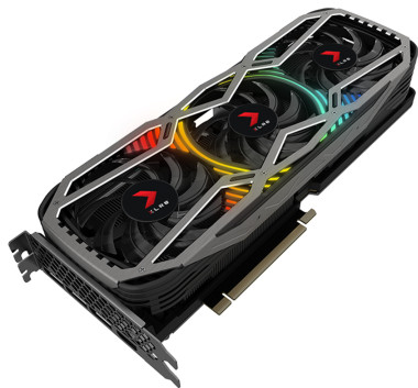 PNY GeForce RTX 3090 24GB XLR8 Gaming REVEL EPIC-X RGB Triple Fan Edition Main Image