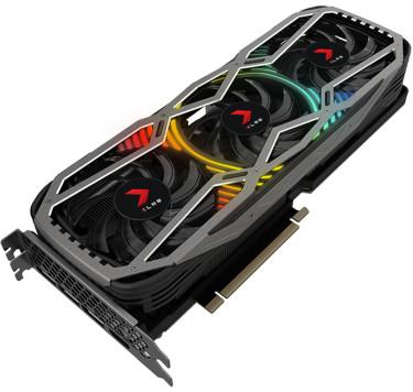 PNY GeForce RTX 3080 10GB XLR8 Gaming REVEL EPIC-X RGB Triple Fan Edition Main Image
