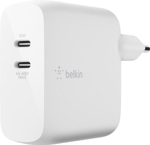 Belkin Power Delivery GaN Oplader met 2 Usb Poorten 60W Main Image