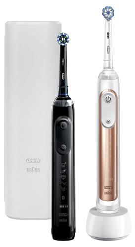 Oral-B Genius X 20900 Duopack Roségoud en Zwart Main Image