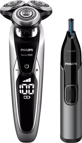 Philips Series 9000 S9711/31 + Philips NT3650/16 neustrimmer Main Image