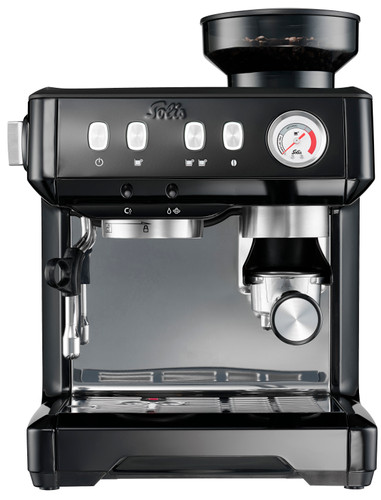 Solis Grind and Infuse Compact Zwart Main Image