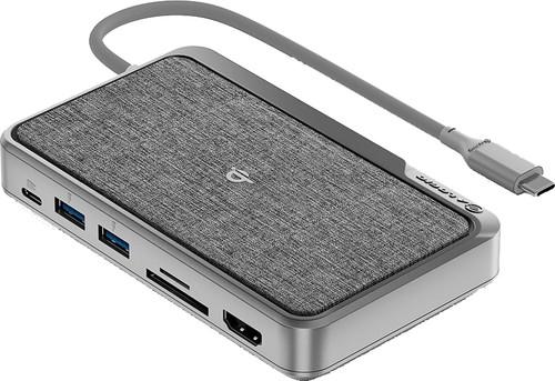 Alogic USB-C Dock WAVE 3-in-1 Grijs Main Image