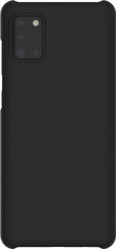 Premium Hard Cover Samsung Galaxy A31 Back Cover Zwart Main Image