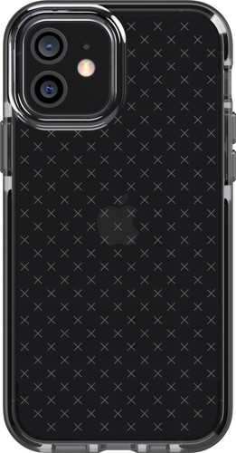 Tech21 Evo Check Apple iPhone 12 / 12 Pro Back Cover Zwart Main Image