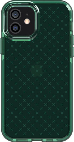 Tech21 Evo Check Apple iPhone 12 / 12 Pro Back Cover Groen Main Image