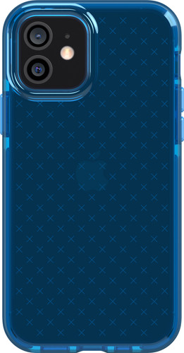 Tech21 Evo Check Apple iPhone 12 / 12 Pro Back Cover Blauw Main Image