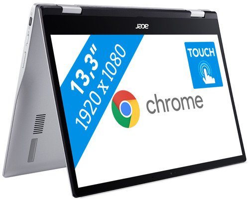 Acer Chromebook Spin 513 CP513 - Mini laptop tablet 13 inch met touchscreen