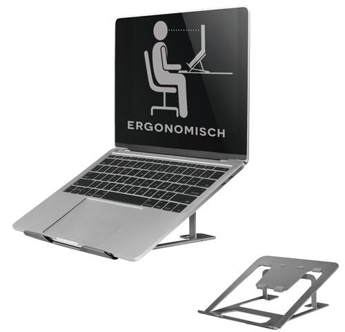 NewStar Opvouwbare Laptopstandaard NSLS085 Grijs Main Image