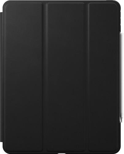 Nomad Rugged Apple iPad Pro 12.9 inches (2020)/(2018) Book Case Black Leather Main Image