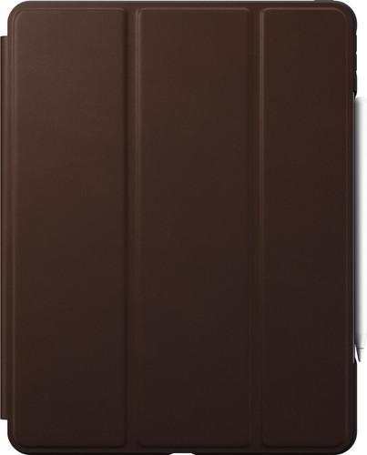 Nomad Rugged Apple iPad Pro 12.9 inch (2020) / (2018) Book Case Bruin Leer Main Image