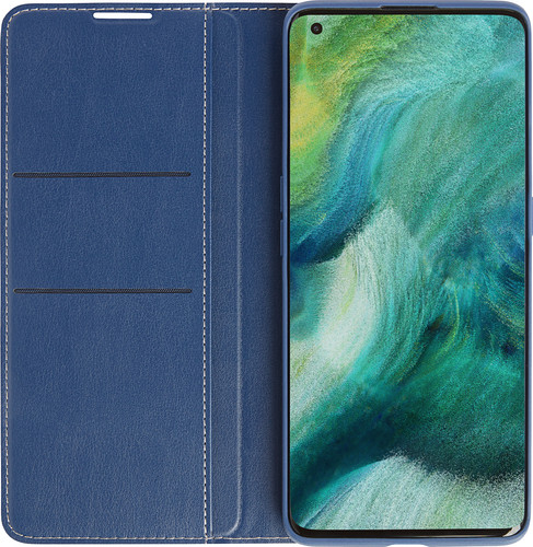 OPPO Find X2 Pro Book Case Blue Main Image