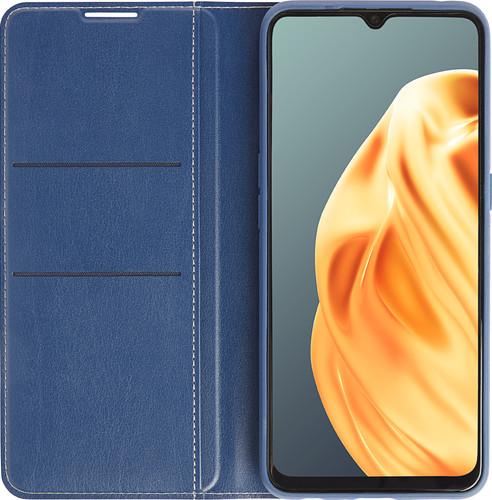 OPPO A91 Book Case Blauw Main Image