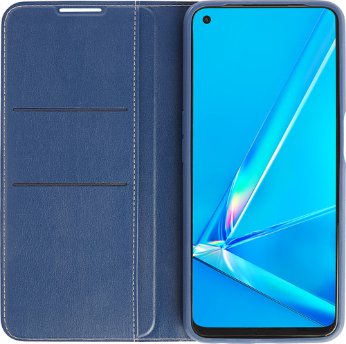 OPPO A52 / A72 Book Case Blauw Main Image