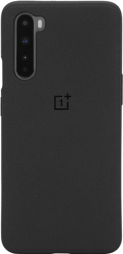 OnePlus Nord Sandstone Back Cover Black Main Image