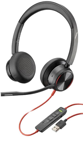 Poly Blackwire 8225 Office Headset Main Image