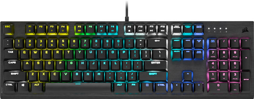 Corsair K60 RGB Pro Laag Mechanisch Gaming Toetsenbord QWERTY Main Image