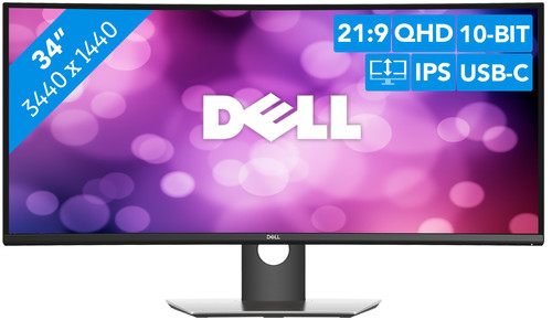 Dell UltraSharp U3419W Main Image